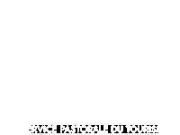 logo version blanc de la pastorale du tourisme