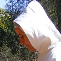 Sœur Damaris, religieuse de la Famille Monastique de Bethléem de l'Assomption de la Vierge