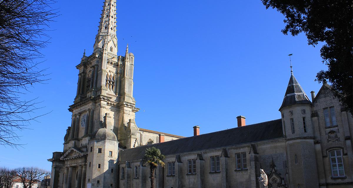 Cathédrale actuelle du diocèse de Luçon