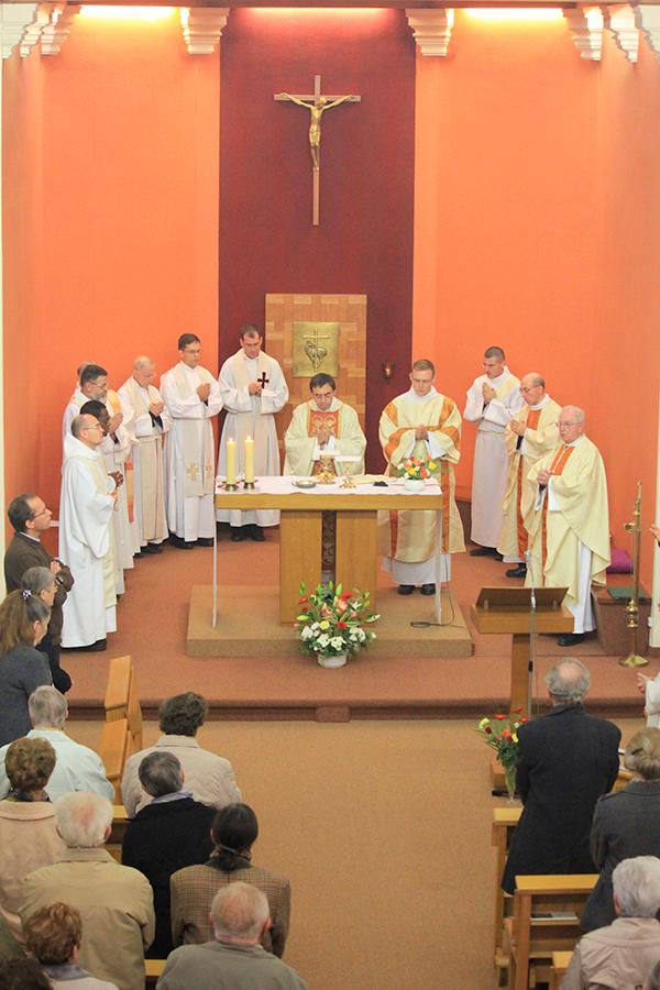 Cérémonie Frères de Saint-Vincent de Paul