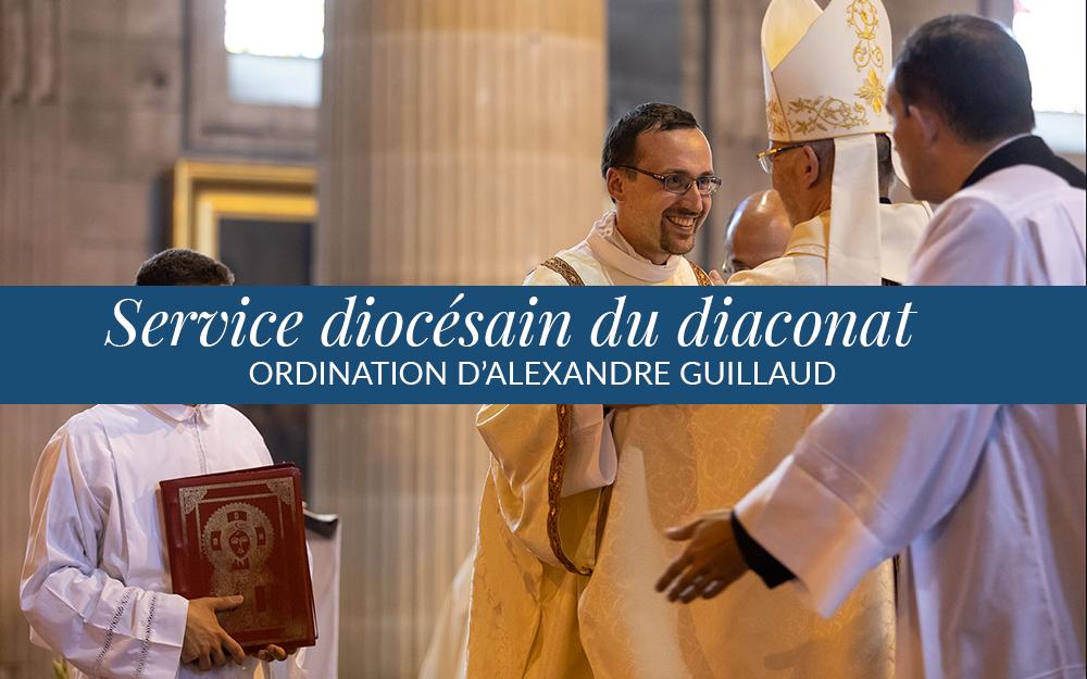 Ordination d'Alexandre Guillaud