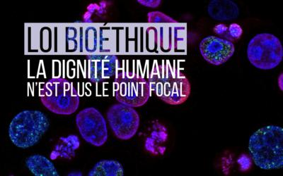 Bioéthique : chacun est renvoyé à sa liberté et à sa responsabilité