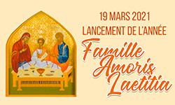 Lancement de l'année Famille Amoris Laetitia