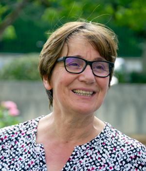 Madame Geneviève CAQUINEAU, Directrice de la maison du diocèse St Paul