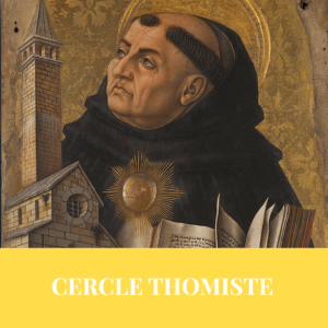 Formation cercle thomiste