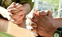 prier en couple