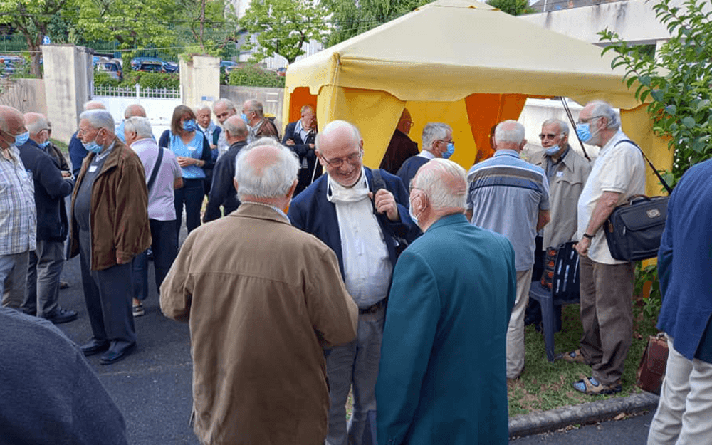 Journée fraternelle des prêtres aînés de Vendée