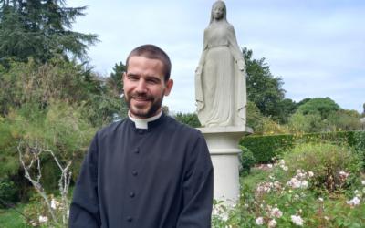 Frère Jean-Maxime, Oblat de Saint Vincent de Paul, futur diacre en vue du sacerdoce